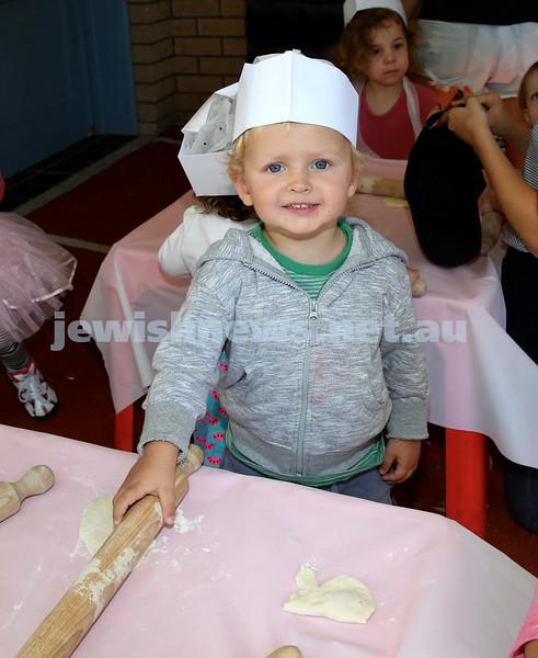 Matzah Bakery at Hug A Bub. Oliver Harris. Pic Noel Kessel.