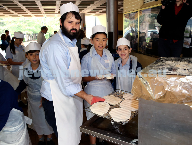 Matzah Bakery at Masada Primary School.