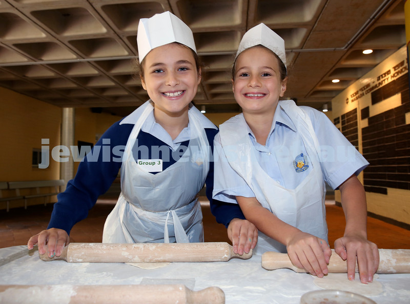 Matzah Bakery at Masada Primary School. Pic Noel Kessel