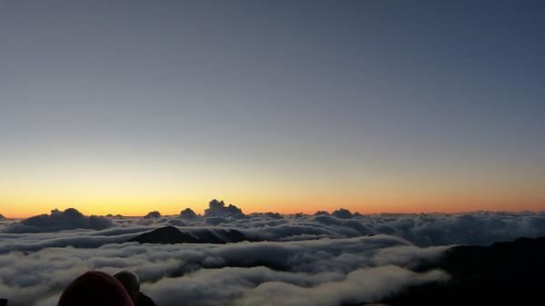 More sunrise from Haleakala