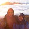 Joe & Anna after sunrise