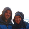 David & Anna just after sunrise