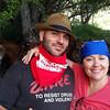 David & Anna on break from horseback riding trip