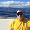 Joe on snorkel boat