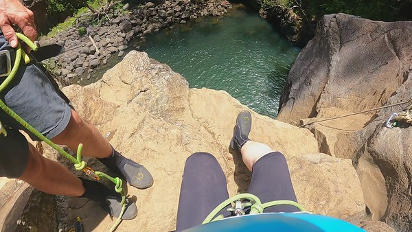 2021 07 07 Rappelling Waterfalls