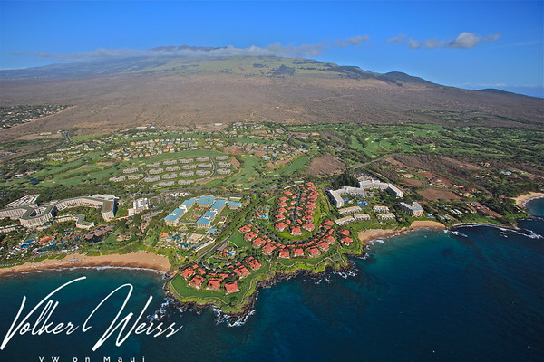 Wailea & Makena Aerial Photos from March 2010