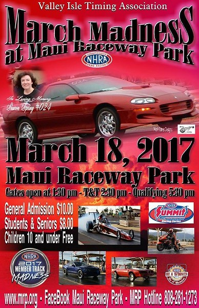Maui Drags ~ March, 2017
