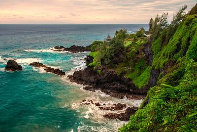 South Maui scenery, Maui, Hawaii