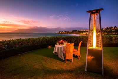 Romantic outdoor settings, Maui, Hawaii