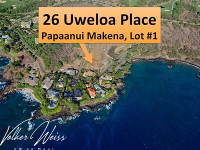 26 Uweloa Place, Papaanui Makena, Makena, Hawaii. Makena Homes and Makena Real Estate including Papaanui Makena in South Maui are viewed best at VWonMaui, a partner of the famous 1MauiRealEstate.com project.