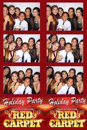 Maui Ocean Club Holiday Party 2016