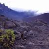 Glimpse of the crater at Mt. Haleakala<br /> Maui, Hawaii