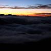 "An ""ocean"" of clouds at Mt. Haleakala<br /> Maui, Hawaii"
