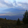 View of Maui from Mt. Haleakala