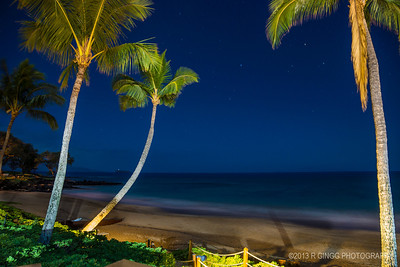 Makena Beach Night Shot