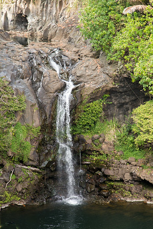 Waterfall at Oheo Gulch