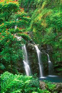 Upper Waikani Falls Maui