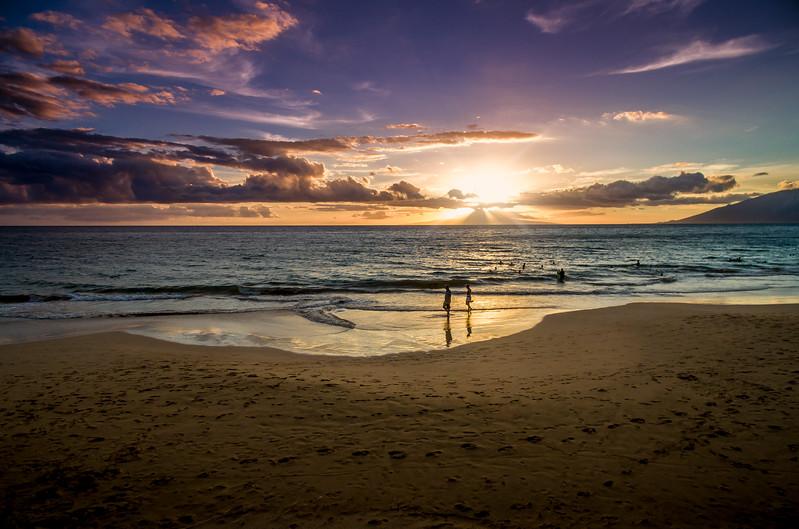 A Walk On The Beach Kihei, Maui