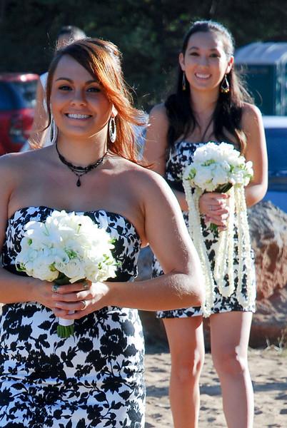 Shae and Peter's wedding on the beach, Maui, Hawaii