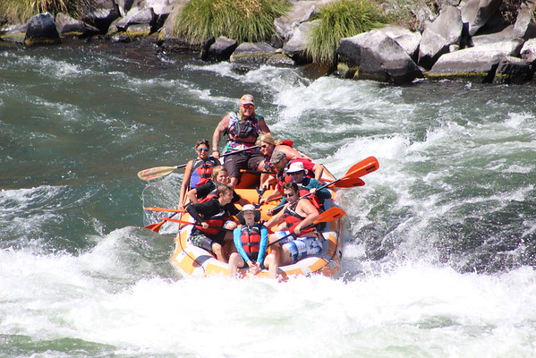 Sunriver Tirp - Maupin Raft, Boat, Bungee 2016