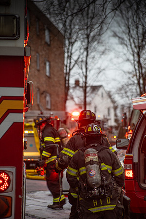 2 Alarm Structure Fire - 111 Sherbrooke Ave, Hartford, CT - 12/31/19