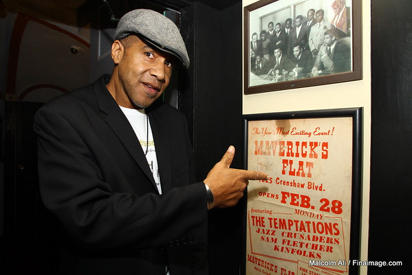Mavericks Flat and Roland Wirt Presents - Surprise Birthday Party for Howard Hewett 10-3-2011
