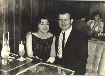 Gabe Sr & Betty at Pat O'Brien's, no date.