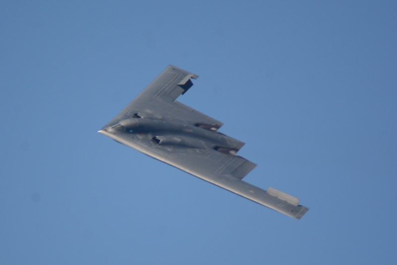 The B-2 Stealth Bomber! Always hoped to get this one in my collection and I did!