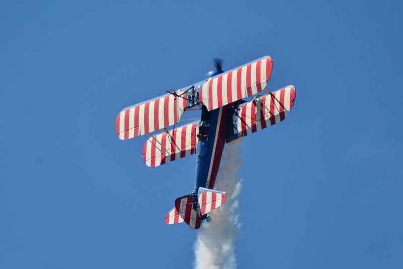 Nothing like a Stearman and a Barn Storming at an air show!