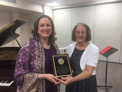 Sarah CMTA Award 180510