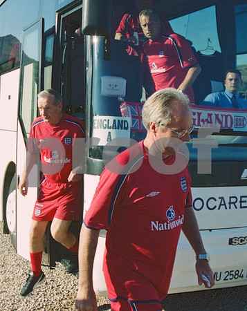 Sven Goran Ericsson with the England National Football Squad training at La Manga Club, May 2001