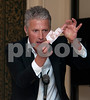David Redfearn, internationally renowned close-up  performance magician at the Wooden Spoon Event, La Manga Club, 2011