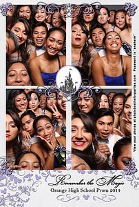 Orange High School Prom 2014