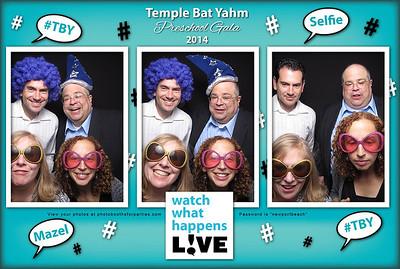 Temple Bat Yahm Preschool Gala