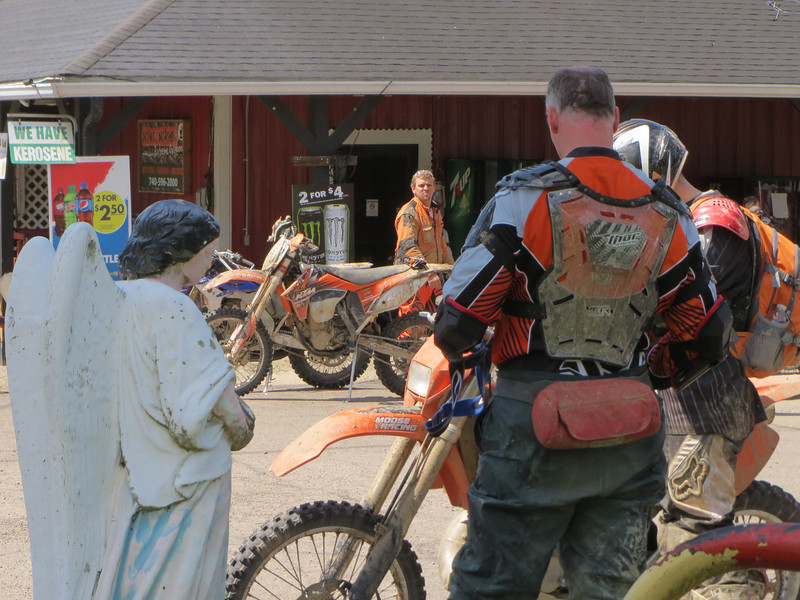 Angel at Goose Creek Gas on USR 50