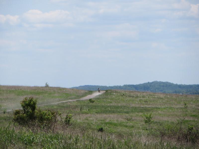 Scenic vistas and fast gravel.  Fun!