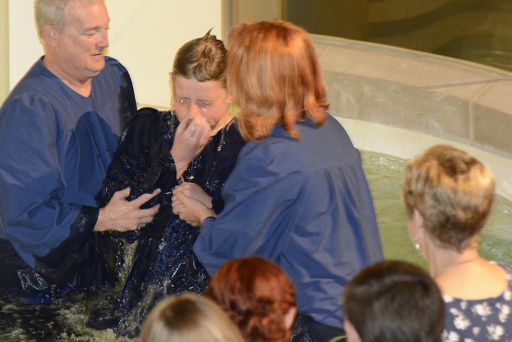May 2015 Baptisms