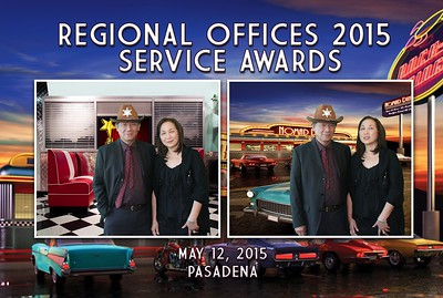 Regional Offices 2015 Service Awards