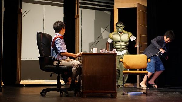 """Cardigan's """"Superheroes"""" on Stage"""