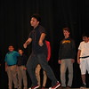 Dancing at the All School Meeting