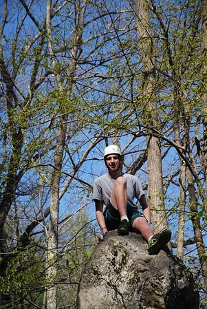 Rock Climbing on Rattlesnake Mountain