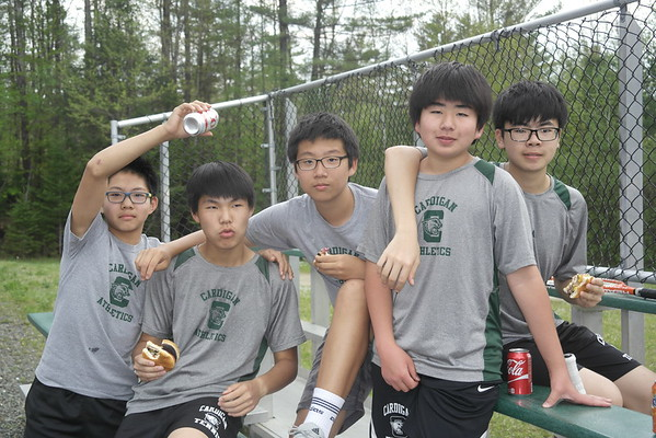 Thirds and Reserve Tennis Challenge and Cookout