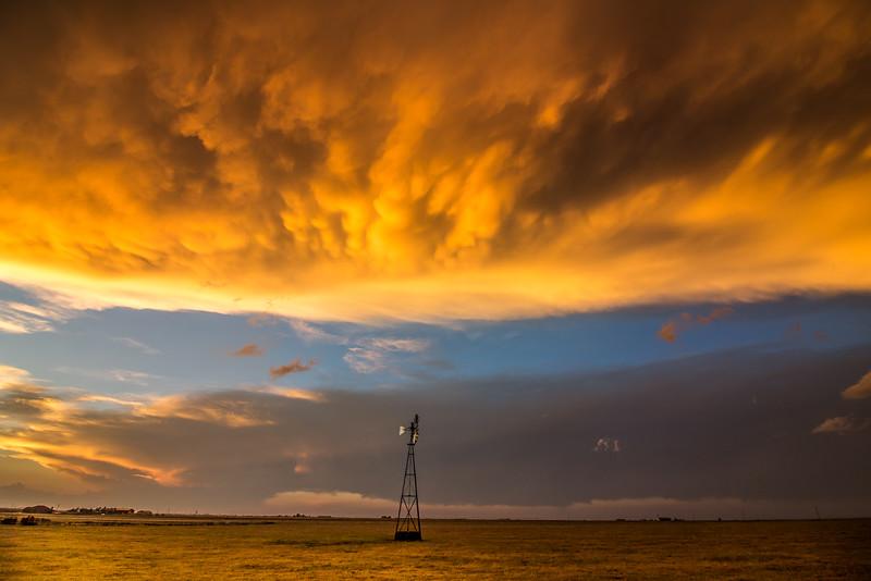 Mammatus Sky near Amarillo