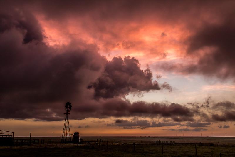 Purple Sunset Near Claude