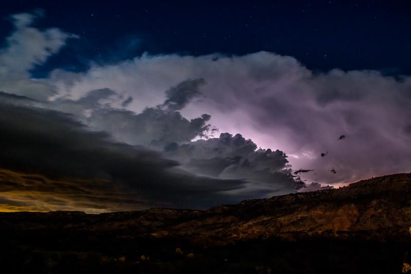 Shelf Cloud Over Palo Duro Canyon