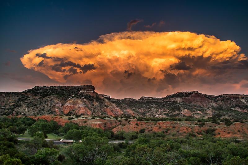 Thunderhead Over Palo Duro Canyon