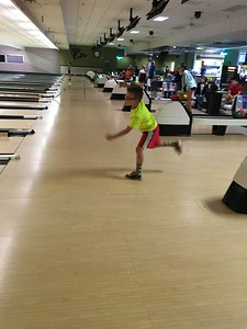 Conall bowling