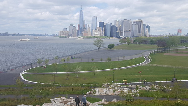 Deb Armstrong: Recorded 20,000 steps exploring Governor's Island