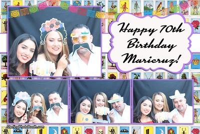 Maricruz's 70th Birthday