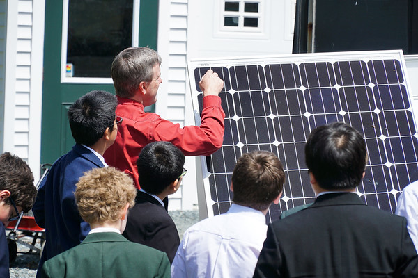 Sixth-Graders Learn about Cardigan's Solar Efforts